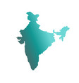 india country map vector image vector image
