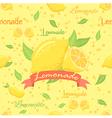 Lemonade Seamless Pattern vector image vector image