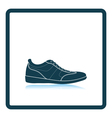 Man casual shoe icon vector image