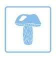 mushroom icon vector image
