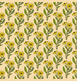 seamless pattern with black-eyed susan vector image