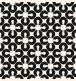 abstract geometric seamless pattern black and vector image vector image