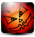 Glossy halloween icon vector image vector image