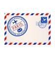 international air mail envelope from paris