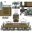 locomotive vl vector image vector image