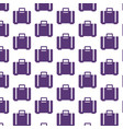 luggage bag pattern background vector image