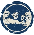 Mount rushmore vector | Price: 1 Credit (USD $1)