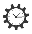 Time and clock theme design vector image vector image
