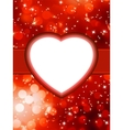 Valentines red abstract StValentines Day EPS 8 vector image vector image