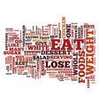 foods to eat to lose weight make a difference vector image vector image