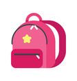 kid backpack vector image