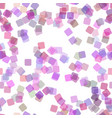 seamless abstract geometrical square background vector image vector image