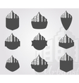 Set of logos city vector image vector image