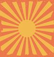 Sunset digital design vector image