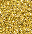 Gold glitter seamless texture vector image
