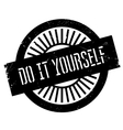Do it yourself stamp vector image vector image