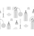 feeding devices for breast milk vector image