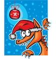 funny dragon vector image vector image