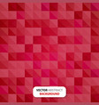 tile abstract background red color - triangle vector image