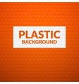 Red metal or plastic texture with holes vector image