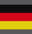german flag vector image