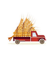agricultural harvest concept with big wheat ears vector image