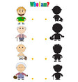 characters for the childrens book vector image vector image