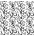 plant seamless pattern vector image vector image