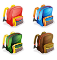 School bags vector | Price: 1 Credit (USD $1)
