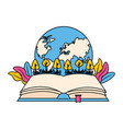 world book day vector image vector image