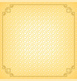 yellow chinese little fan abstract background vector image vector image