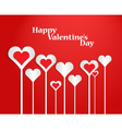Valentines day heart all 1 vector image