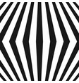 3d seamless pattern with black and white lines vector image vector image