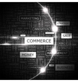 COMMERCE vector image vector image