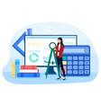 math school online service or platform vector image