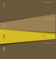modern simple design template vector image