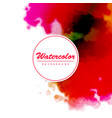 modern watercolor background vector image vector image