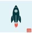 Rocket icon template vector image vector image