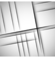 Simple background of straight gray lines vector image vector image