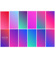 abstract colorful background collection vector image