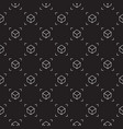 cube dark seamless pattern ar background vector image