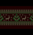 folk seamless pattern vector image