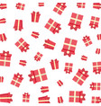 gift boxes presents pattern vector image vector image