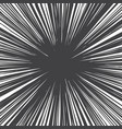 grunge radial lines texture vector image vector image