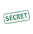 Secret rubber stamp vector image