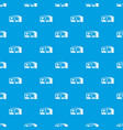 warehouse for loading pattern seamless blue vector image vector image