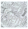 When You Need To Hire An Event Planner Word Cloud vector image vector image
