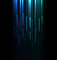 blue green overlap pixel speed abstract background vector image vector image