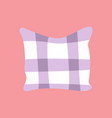 cool pillow in cartoon style vector image vector image