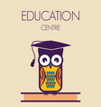 education owl vector image